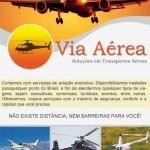 VIA AÉREA TÁXI AÉREO  oferta Táxi Aéreo