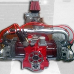 Motor VW aeronáutico Fotografia