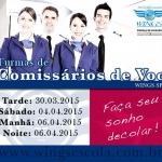 CURSO COMISSÁRIO DE VOO oferta Cursos, Escolas de Aviação