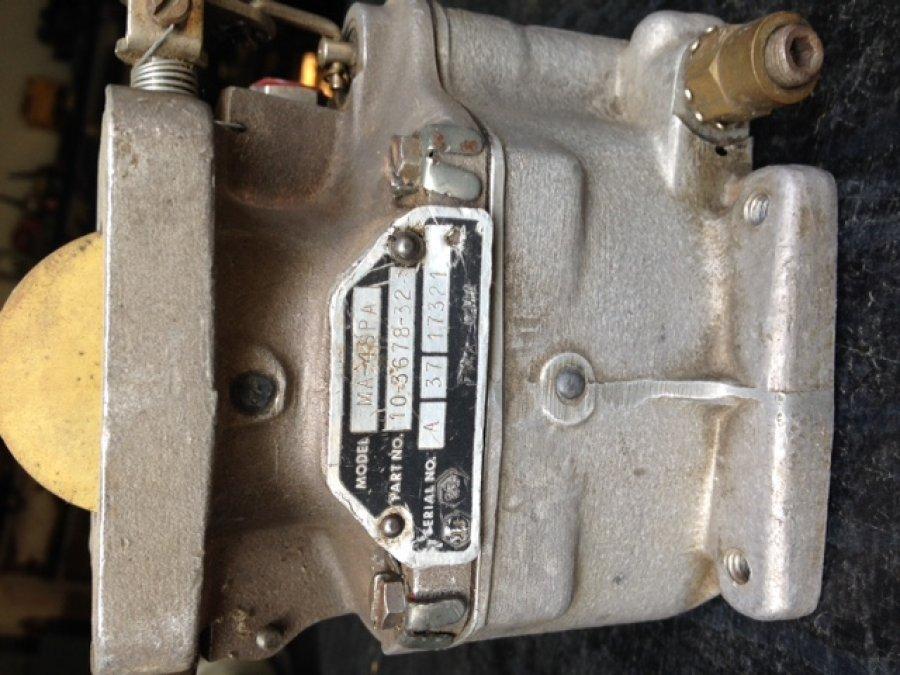 Carburador Marvel MA-4SPA   Peças de avião a venda   Motores