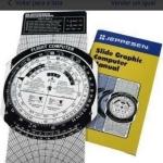 Computador de vôo Jeppesen Metal Csg Js514105 + 6 livros oferta Acessórios diversos