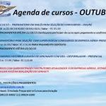 AGENDA DE CURSOS PARA OUTUBRO oferta Cursos, Escolas de Aviação