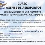 CURSO DE AGENTE DE AEROPORTOS oferta Cursos, Escolas de Aviação