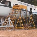 Avião Bandeirante oferta Estrutura