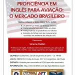 WORKSHOP: INGLÊS PARA AVIAÇÃO: O MERCADO BRASILEIRO  |  Feiras, Eventos, Palestras