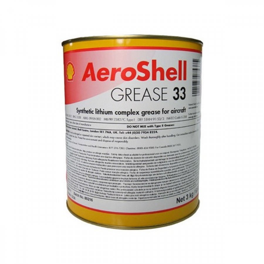Lubrficantes Aeroshell Grease 33  Fotografia