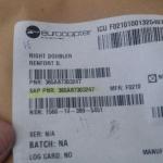 Right Doubler Renfort D PN 365a87303247  oferta Peças diversas