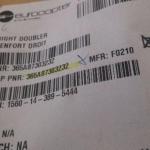 Right Douber Renfort Droit PN 365a 87303232  oferta Peças diversas