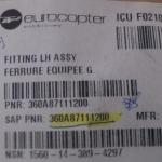 FITTINGLH ASSY FERRURE EQUIPEE G PN 360a87111200 oferta Peças diversas