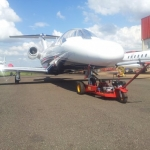 Rebocador De Aeronaves - Ciborg Push Back  |  Trator, Garfo, GPU