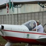 Hangar e titulo no clube Asas de Balsa Nova  |  Hangar