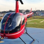 Helicóptero Robinson R22 Beta II – Ano 2009 – 750 H.T. oferta Helicóptero Pistão