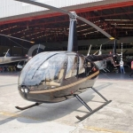 Helicóptero Robinson R44 Raven II – Ano 2007 – 1300 H.T. oferta Helicóptero Pistão