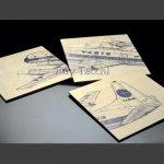 Painéis Constellation ou Cessna   |  Decoração, Antiguidades, Miliraria