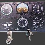Porta Chaves Avião  |  Decoração, Antiguidades, Miliraria