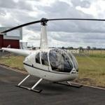 Helicóptero Robinson R44 Raven II – Ano 2006 – 1400 H.T. oferta Helicóptero Pistão