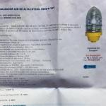 Sinalizador LED de alta intensidade. oferta Aeroportos
