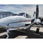 Avião Bimotor Baron G58 – Ano 2006 – 1140 H.T. oferta Bimotor Pistão