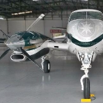 Avião Turbo-hélice Beechcraft King Air C90B – Ano 1998 – 2850 H.T.  |  Turbo Hélice