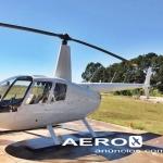Helicóptero Robinson R44 Raven II – Ano 2006 – 1810 H.T. oferta Helicóptero Pistão