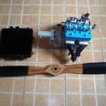 Motor Rotax 582 seminovo  |  Motores