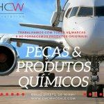 DISTRIBUIDOR DE PEÇAS E PRODUTOS QUÍMICOS oferta Manutenção, Revisão, Inspeção