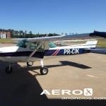 1973 Cessna 150L com mais de 1650 hrs disponíveis de motor/calendário Fotografia