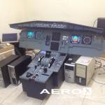 Simulador de Voo A320 Fotografia