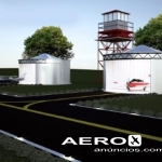 HANGAR CIRCULAR EM CHAPAS DE AÇO   |  Hangar