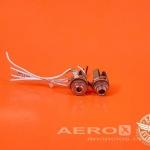 Entrada para Fone e Microfone (Par de Jack) - Barata Aviation oferta Sistema elétrico