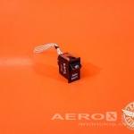 Interruptor 2 Posições Radio Mastr/Off 28V - Barata Aviation oferta Sistema elétrico