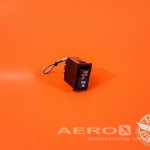 Interruptor 3 Posições Yaw Auto/Off/Yaw On 28V - Barata Aviation oferta Sistema elétrico
