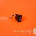 Interruptor 3 Posições Yaw Auto/Off/Yaw On 28V - Barata Aviation  |  Sistema elétrico