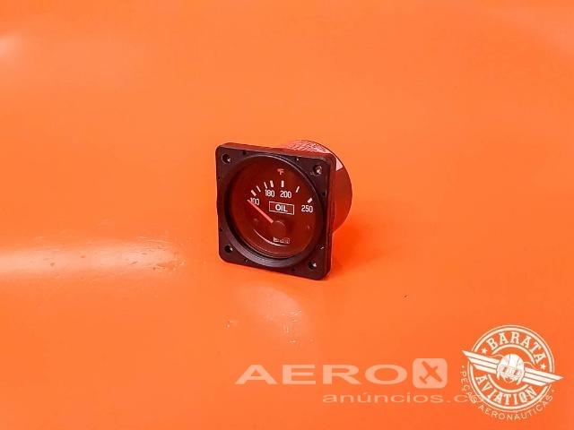 Indicador de Temperatura de Óleo Analógico D1-211-5088 - Barata Aviation Fotografia