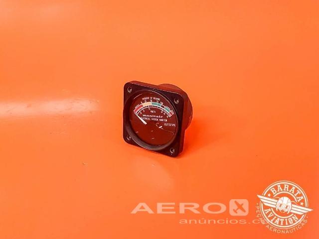 Voltímetro - Barata Aviation Fotografia