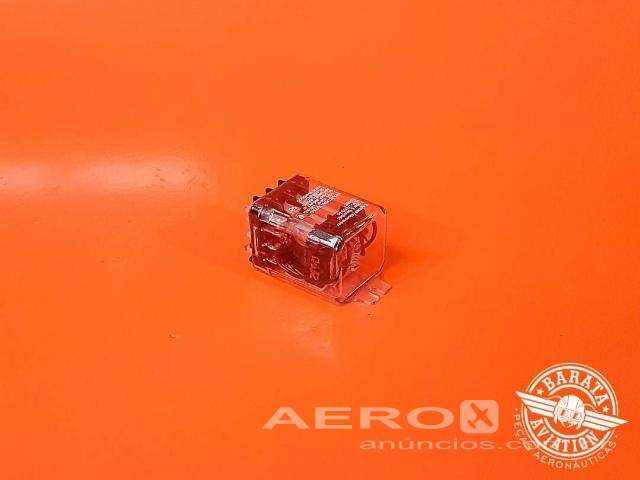 Relé Tyco Electronics 24V 10AMP - Barata Aviation Fotografia