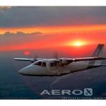 Avião Bimotor Vulcanair P68R – Ano 2013 – 380 H.T. oferta Bimotor Pistão