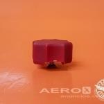 Knob da Manete de Mistura (Puxador Vermelho) 24048-000 - Barata Aviation oferta Peças diversas