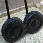 Rodas do Robinson R-44  |  Trator, Garfo, GPU