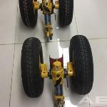 Jogo de rodas do helicóptero Esquilo oferta Rodas, pneus e câmaras