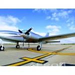 Avião bimotor Cessna 310R – Ano 1975 – 5200 H.T.  |  Bimotor Pistão
