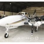 Avião Bimotor Beechcraft Baron G58 – Ano 2008 – 2000 H.T.  |  Bimotor Pistão