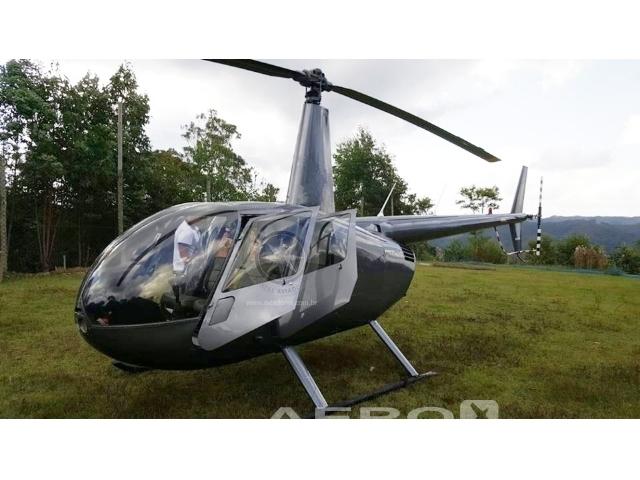 Helicóptero Robinson R44 Raven II – Ano 2008 – 950 H.T. Fotografia