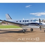 Avião Turbo Hélice Beechcraft King Air C90 GTX – Ano 2011 – 1200 H.T. oferta Turbo Hélice