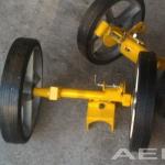 Rodas dupla do Jet Ranger  |  Trator, Garfo, GPU