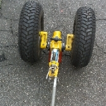 Jogo de rodas do helicóptero Esquilo  |  Trator, Garfo, GPU