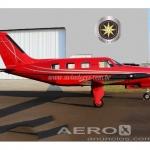 Avião Piper PA-46R-350T Matrix – Ano 2008 – 2000 H.T. oferta Monomotor Pistão