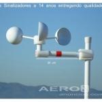 Anemômetro Wind Base + Leitor Digital + 10 M Cabo + Brinde oferta Aeroportos
