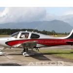 Avião Monomotor Cirrus SR22 GTS G5 – Ano 2013 – 1300 H.T.  |  Monomotor Pistão