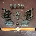 MOTOR VW AERONÁUTICO COM HÉLICE  oferta Motores
